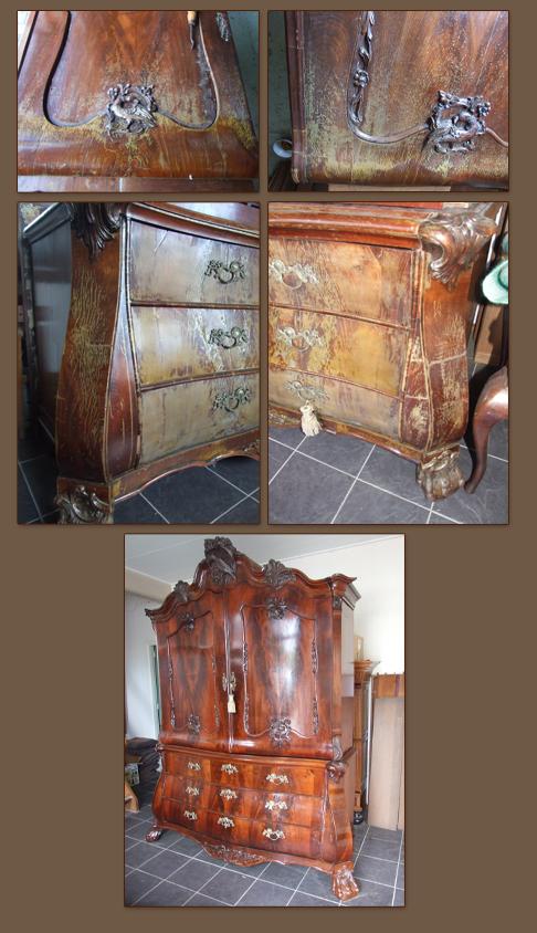 Oude Meubels Restaureren Antiekrestaurateur Pj Vd Beek